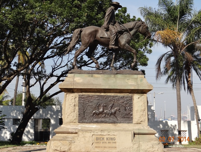 Dick King Statue